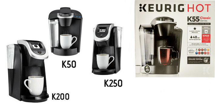 Keurig K50 vs. K55 vs. K250 vs. K200 (What Is The Best Keurig Coffee Maker?) - She Loves Best