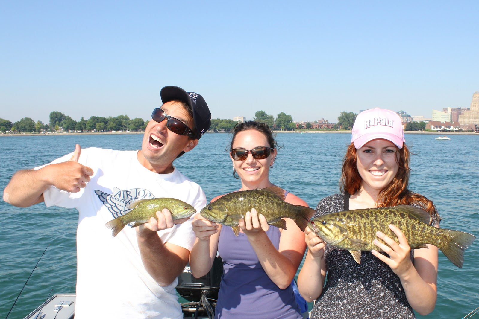 Firsts ontario carp new york smallies ashley rae for New york out of state fishing license