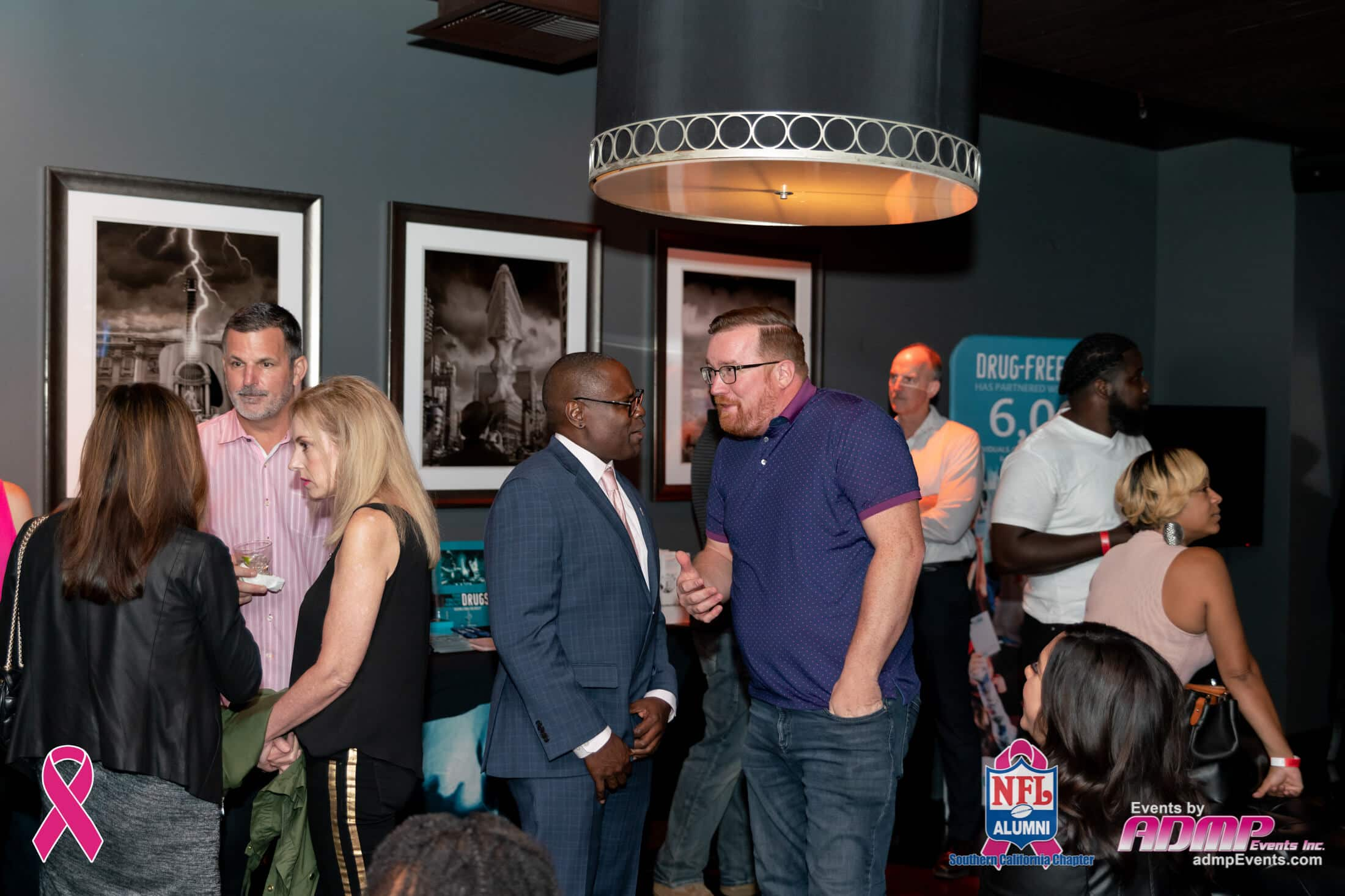 NFL Alumni SoCal Charity Event Series Breast Cancer Event 10-14-19-112