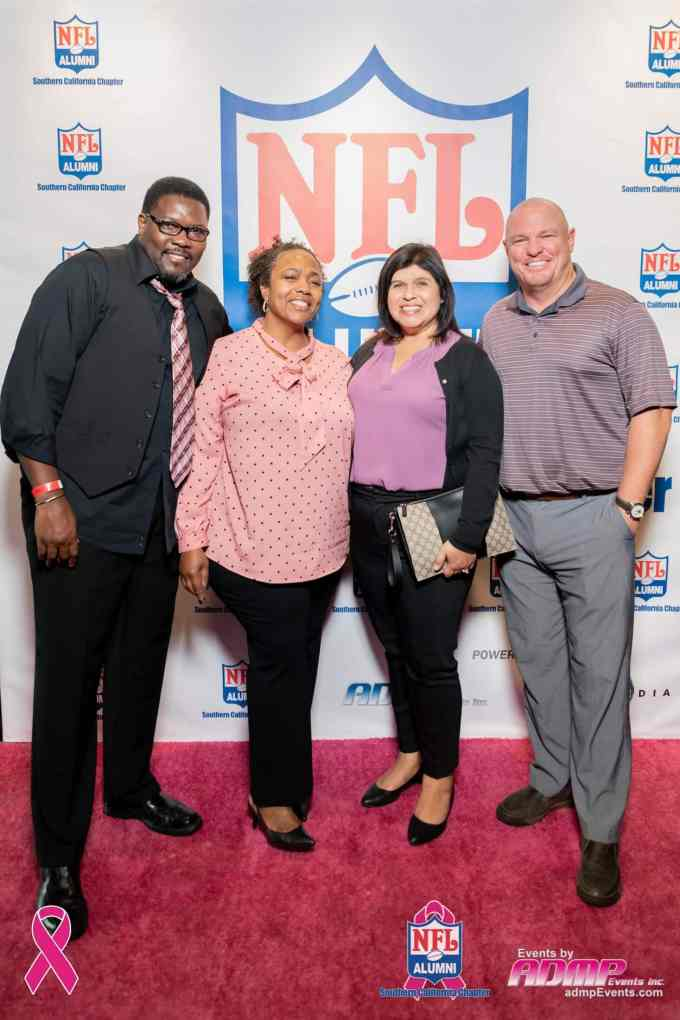 NFL Alumni SoCal Charity Event Series Breast Cancer Event 10-14-19-321