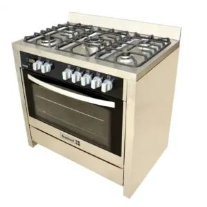 SFC9502SS – 90X60 CMS 5 Gas Burners (1 WOK + 4 MORMAL)