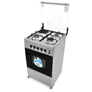 CK-5312 NG – 50X50 CMS 3 GAS BURNERS + 1 HOT PLATE WITH GAS OVEN+GRILL