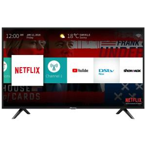 40″ LED FULL HD SMART TV, 3 HDMI, 2 USB DIVX, AV, Black, WIFI