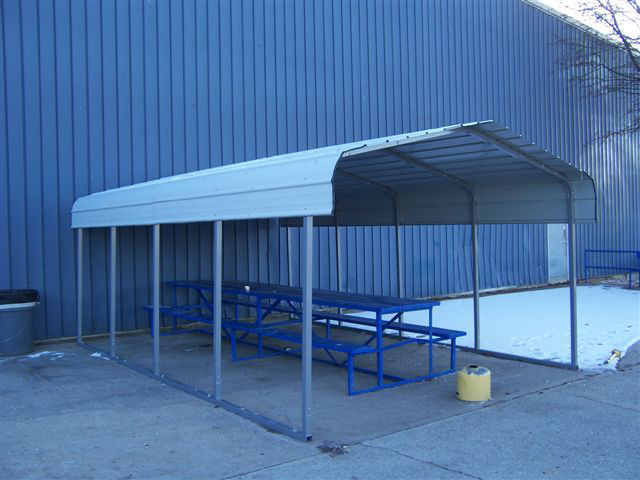 Steel Car Canopy