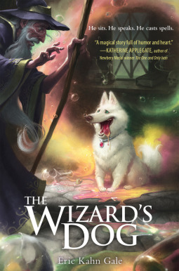 A Shelter Dog Inspired Author to Write 'The Wizard's Dog'