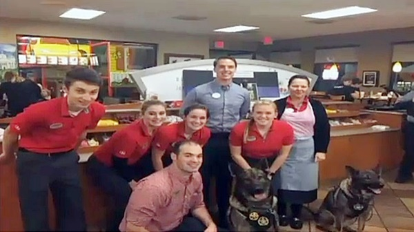 Students Hold Fundraiser to Provide Vests for Police K-9s