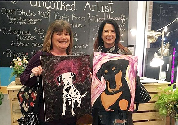 """Paint Your Pet"" Event Raises Money For Local Humane Society"