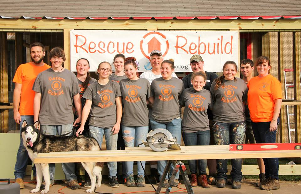 Renovating Shelters Is Job #1 For Rescue Rebuild
