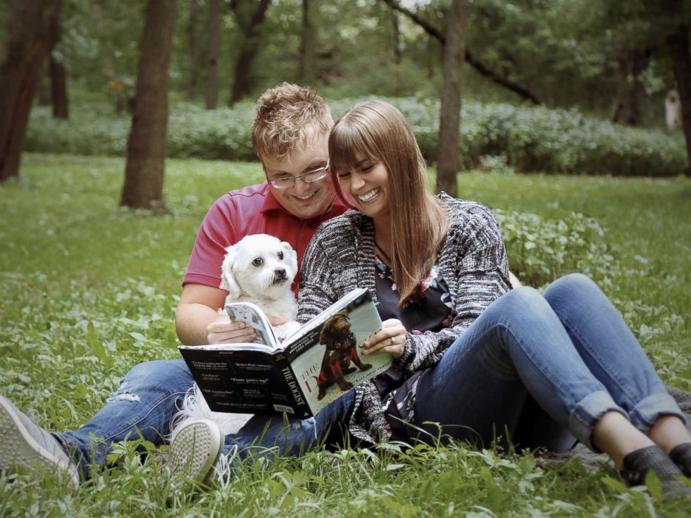 Adopted Dog At The Heart Of Couple's Creative Photo Shoot