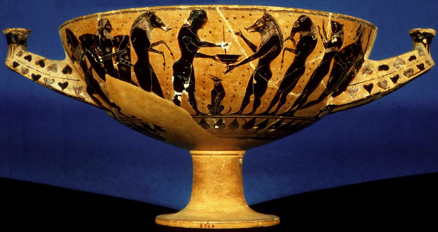 Image result for Ancient Greek vase Odysseus meets princess