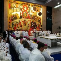 Convivenza dei vescovi alla Domus Galilaeae