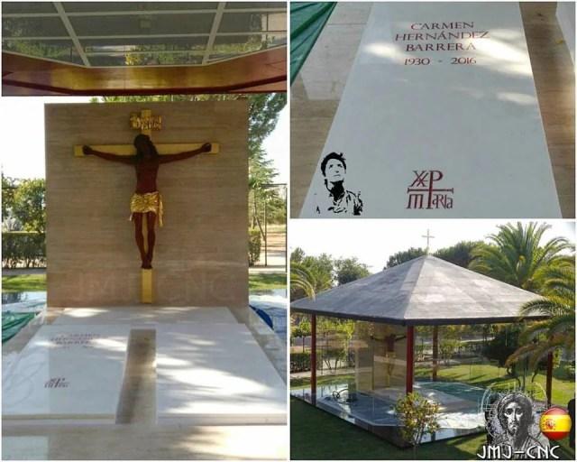 tomba carmen hernandez seminario madrid