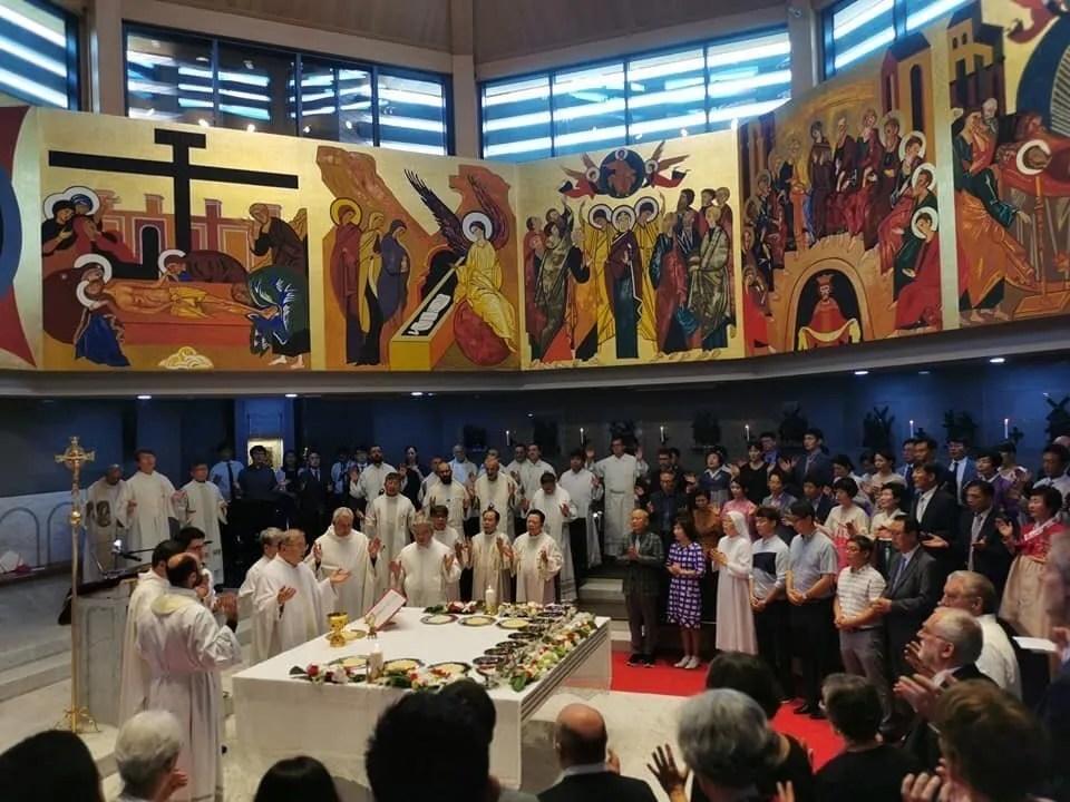 Inaugurazione Seminario Redemptoris Mater a Seoul