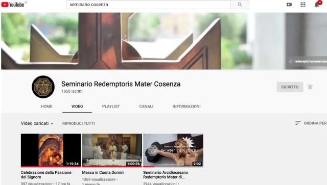 veglia pasquale seminario redemptoris mater cosenza