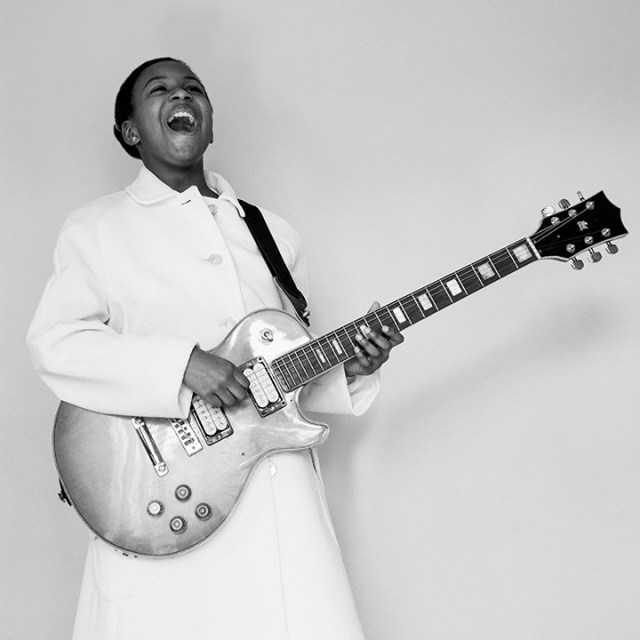 Georgia as Sister Rosetta Tharpe