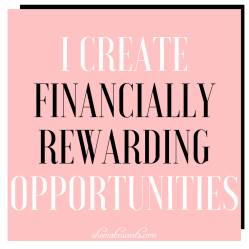 Money Affirmations from Personal Finance Blog, She Makes Cents