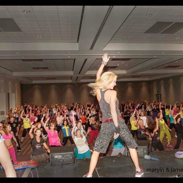 tbt Teaching Rock n Roll dance moves to Zumba fitnesshellip