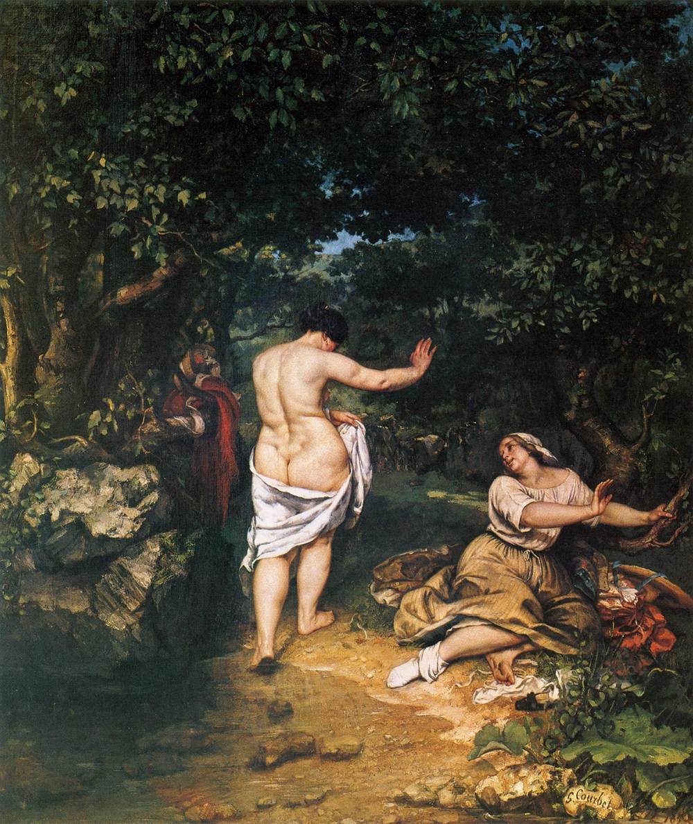 Courbet's the Bathers