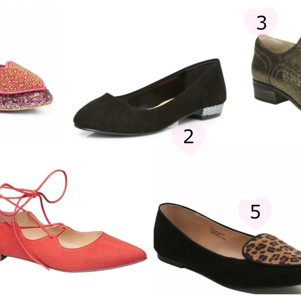 5 Flat Shoes To Complete Your Look