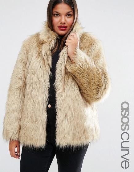 Plus Sized Faux Fur Jackets