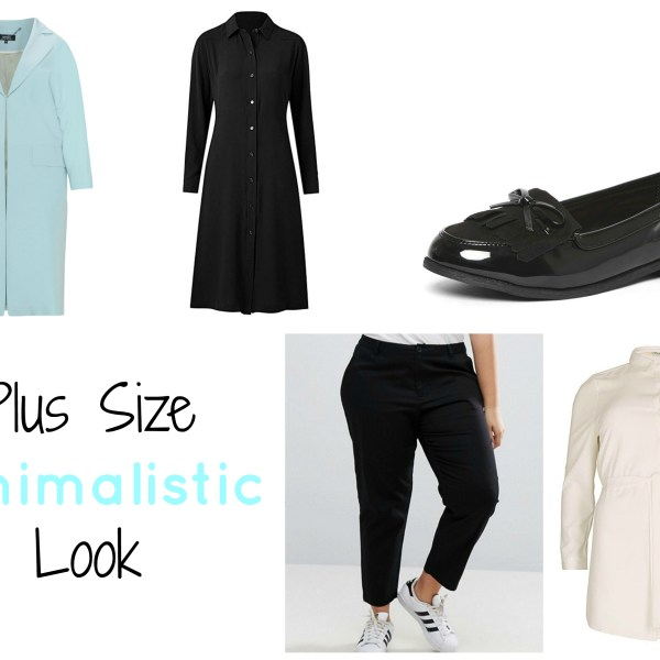 plus size minimalistic
