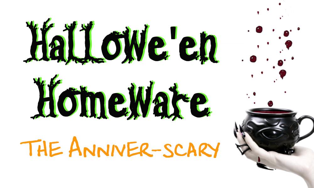 halloween homeware