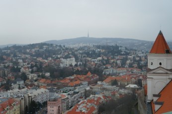 View of the city from the castle
