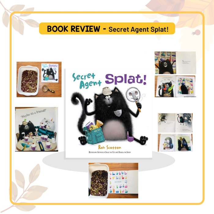 Book review of 'Secret Agent Splat!' by Rob Scotton