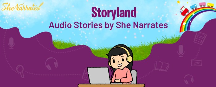 Audio Stories by She Narrates- Storyland