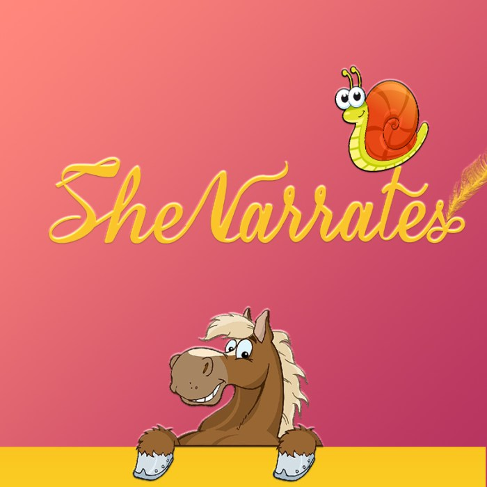 Audio Stories by She Narrates- The Horse and the snail