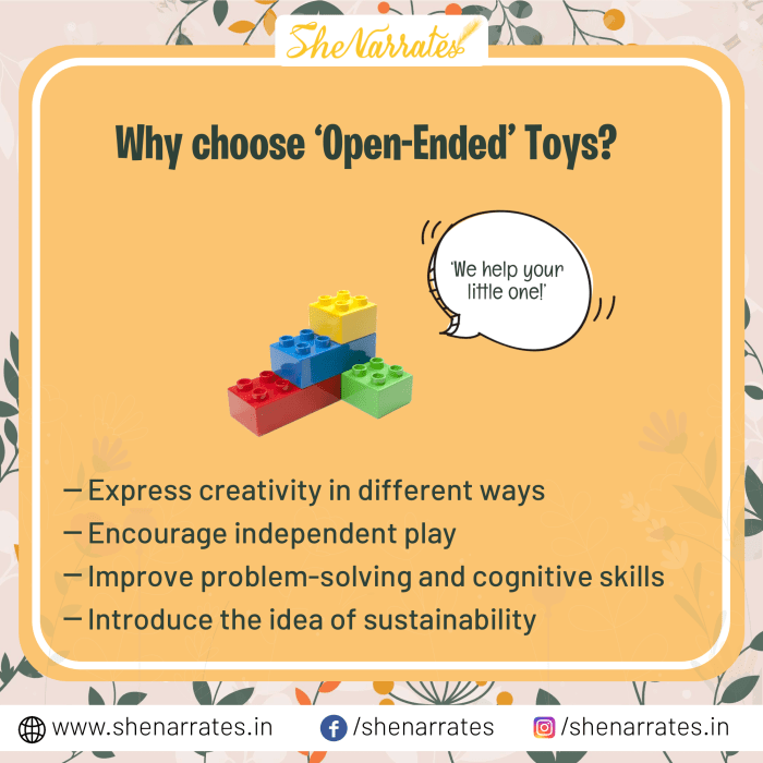 Why to choose open ended toys for kids