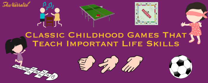 Classic Childhood Games That Teach Important Life Skills