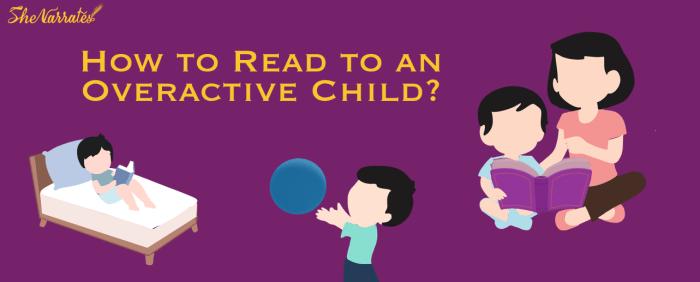 7 ways to develop the reading habit in overactive children