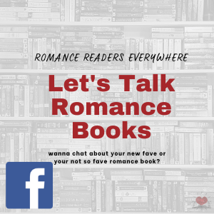 Let's talk about romance books facebeook group