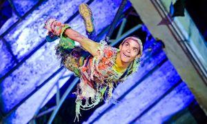 Hiran Abeysekera in Peter Pan at Regent's Park Open Air Theatre.