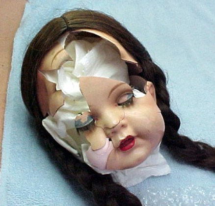 Celluloid Doll Face