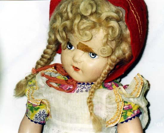 Compo Doll Head