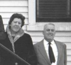 Uncle Joe's widow Millie and Lou Hogan Mamie's Funeral 1964