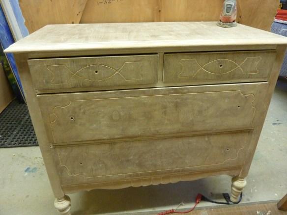 Four drawer dresser.