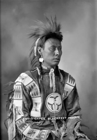 Kat-O-Capee Vancouver Archives, Blackfoot Circa 1900
