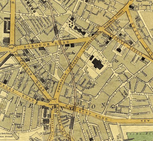 George Street became Ontario Street in London UK just below Borough Road