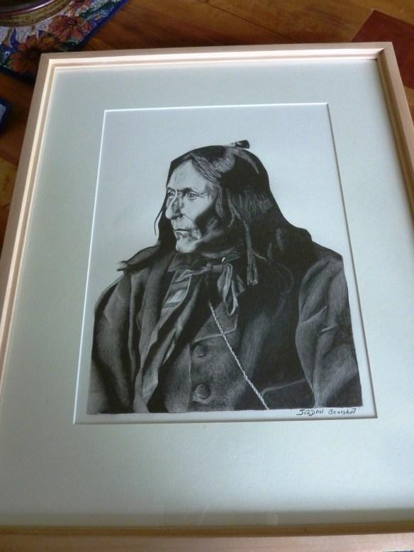 Chief Crowfoot by Jordan Bearshirt