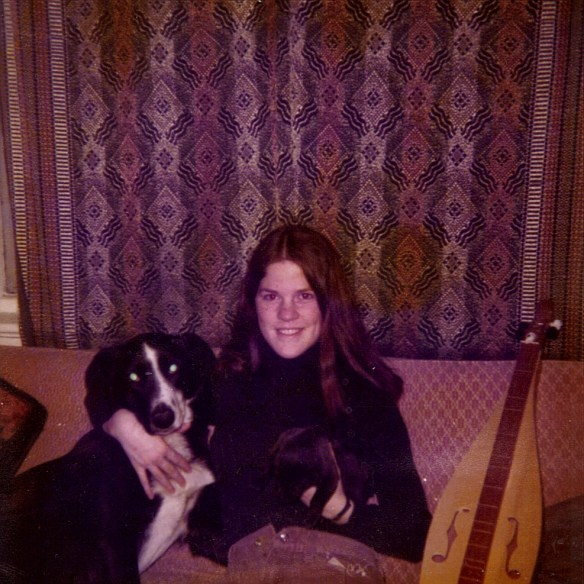 Kath with Fido