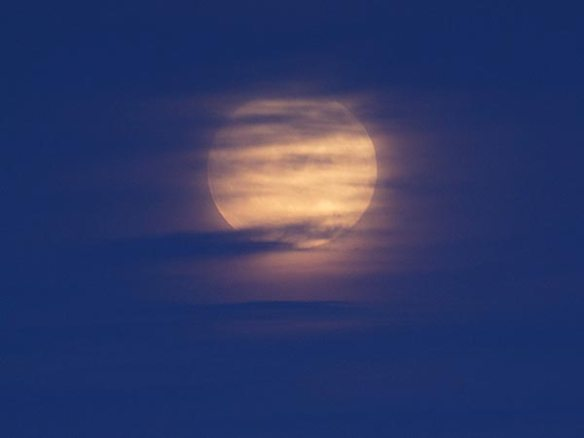 Veiled Moon Photograph by P-M Heden, TWAN