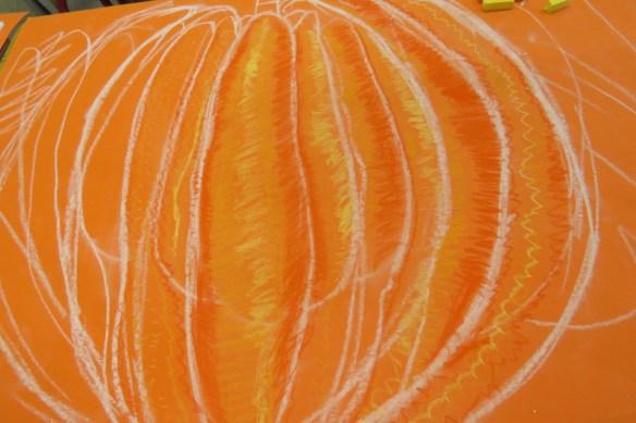 Kath's Canon, October 14, 2015 Grade three pumpkins 006