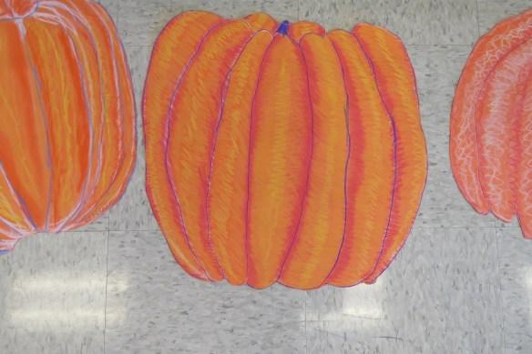 Kath's Canon, October 14, 2015 Grade three pumpkins 028