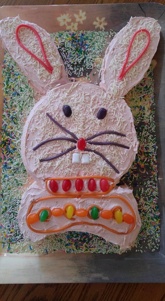 Val's Bunny Cake 2016