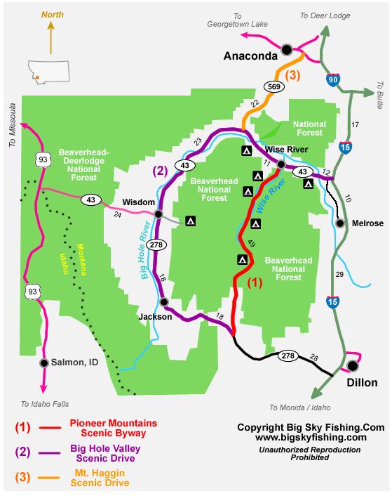Scenic Drives Montana
