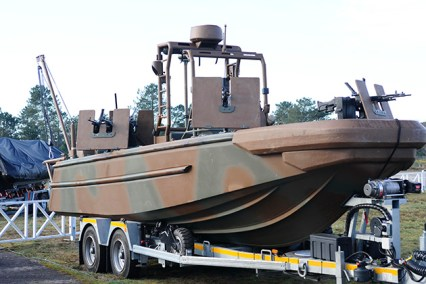 The Riverine Combat Craft (EFC).