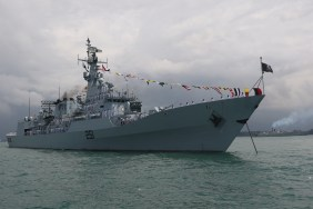 PNS Zulfiquar from the Pakistan Navy